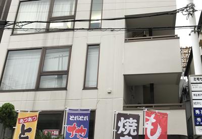 GSが現在バーチャルオフィスを置く、東京都豊島区内のビル Photo by Seiko Nomura