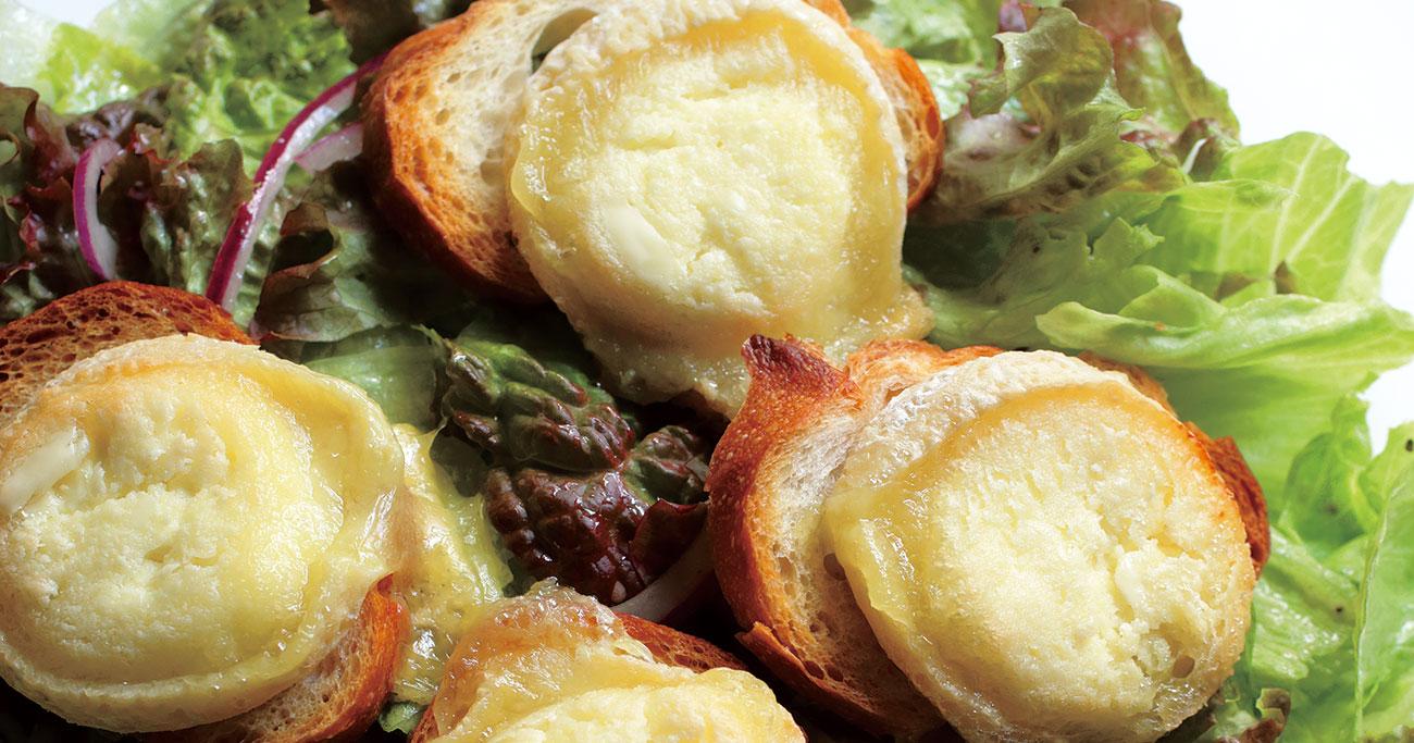 伝説の家政婦・志麻さんが初めて食べたとき、衝撃を受けた「クロタン・ドゥ・シャビニョルのサラダ」
