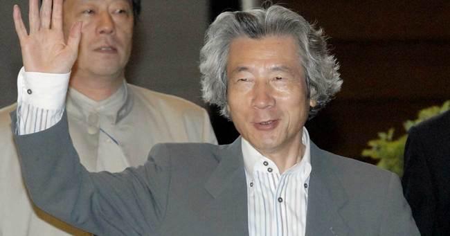 2006年、首相時代の小泉純一郎氏