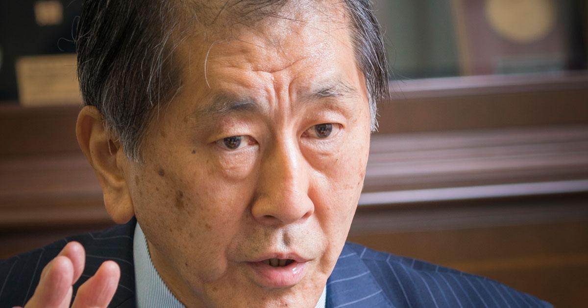 「世界へ出て、3年後に早慶再逆転を狙う」田中愛治・早稲田大学総長インタビュー