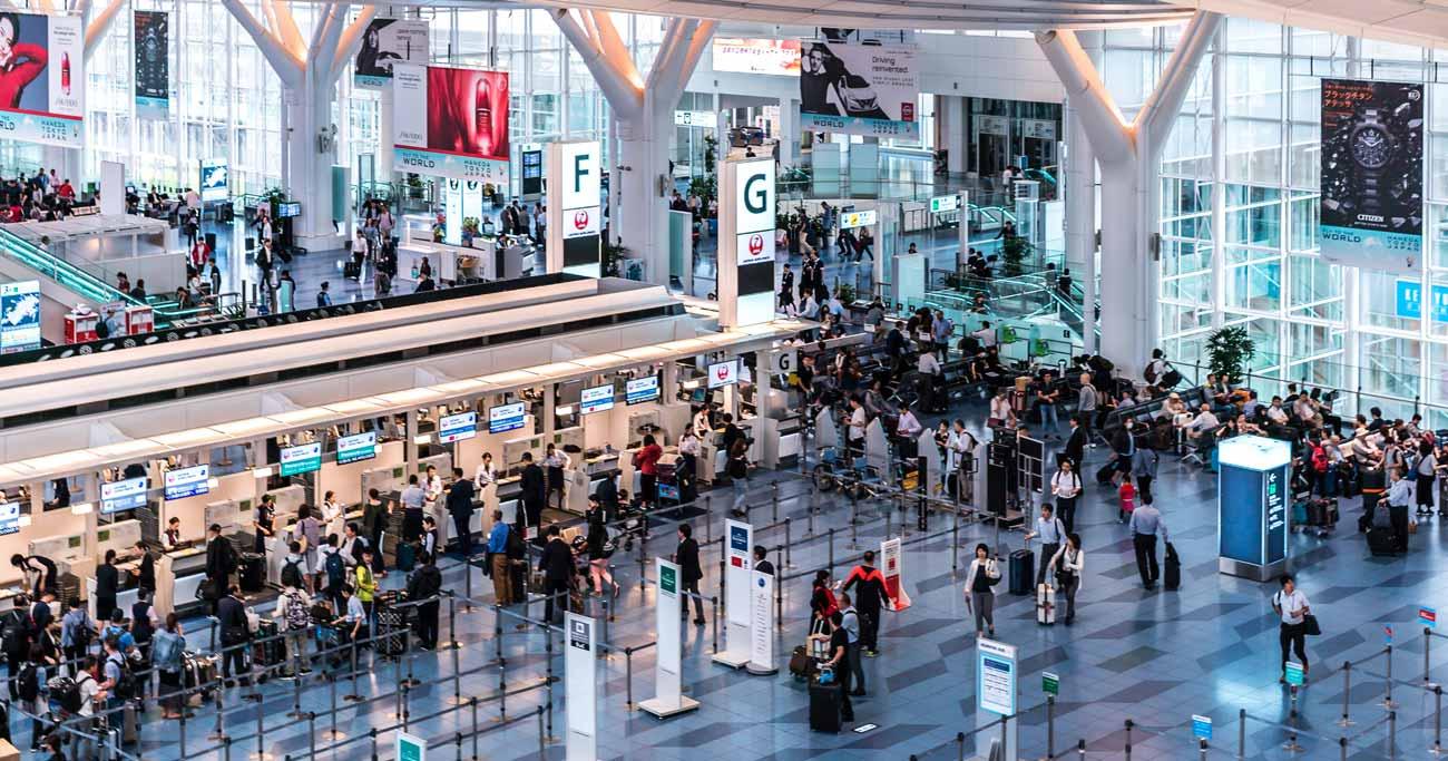 空港の混雑は大型連休で生じる問題の1つだ(写真はイメージです) Photo:iStock/gettyimages