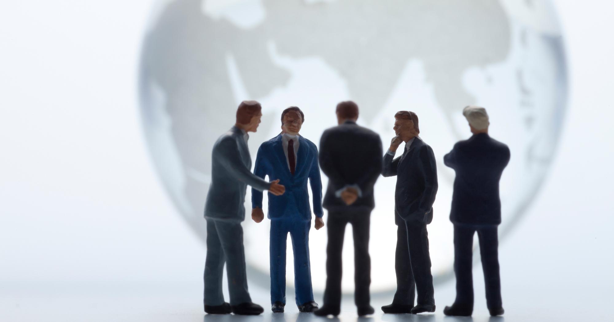 グローバル仕事人は「対人関係」をどう整理しているか