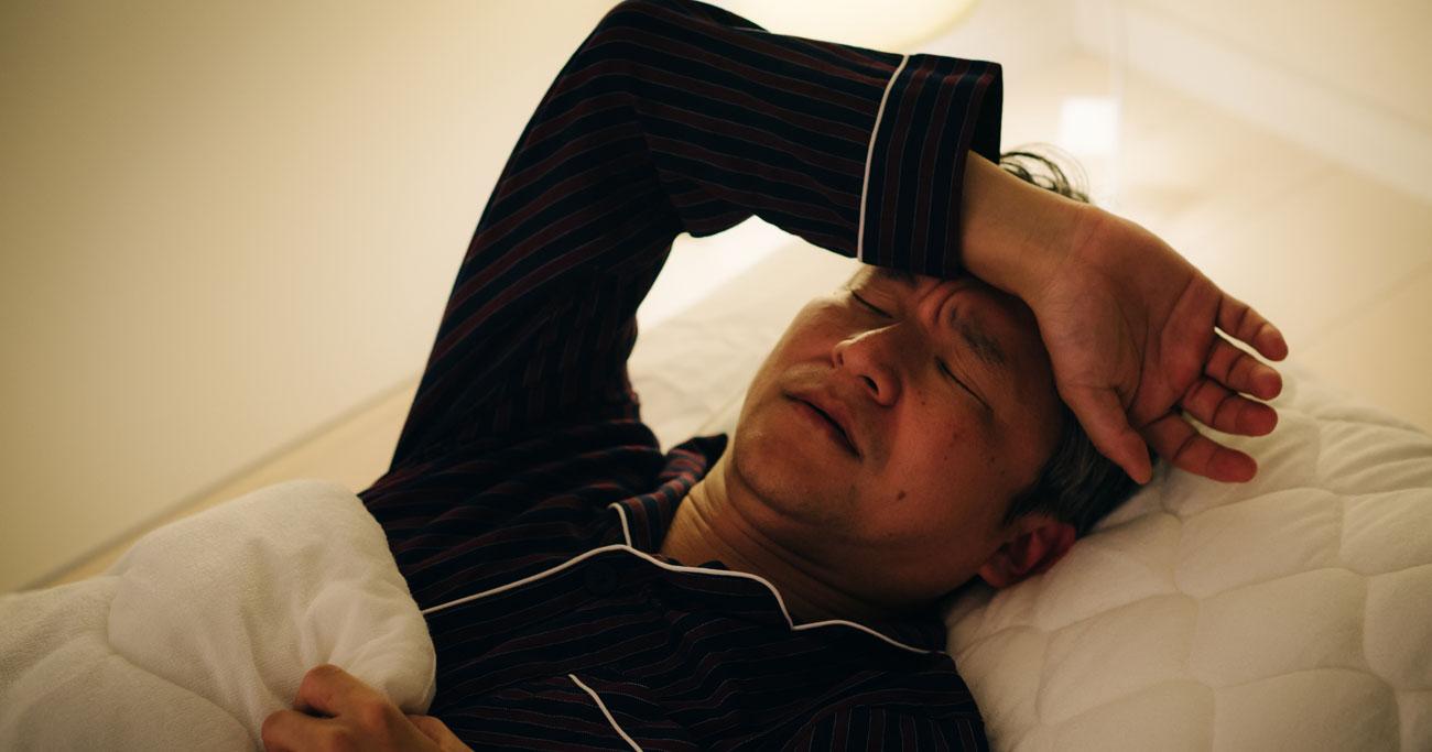 寝付けない、目が覚める…40代営業課長を苦しめる不眠症とは違う原因