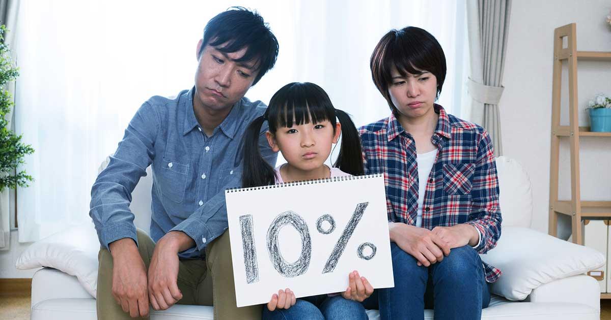 消費増税の「負け組」は年収300万世帯、増税対策のインパクトを緊急試算
