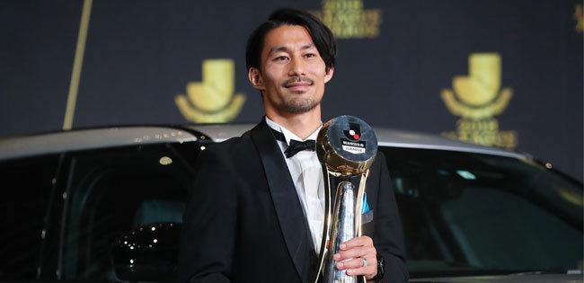 2018年MVPを獲得した家長昭博
