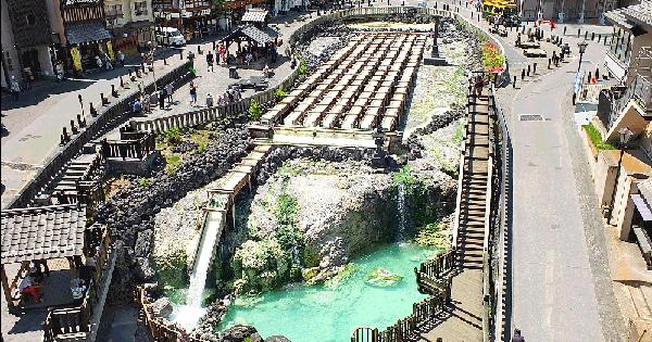 箱根温泉郷が1位!日本の温泉ベスト100・上位十湯