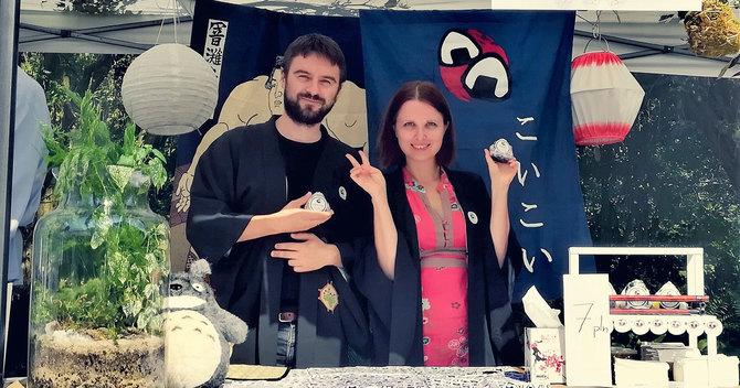 日本関連イベントでおにぎり屋のブースを出店する形でビジネスをスタート