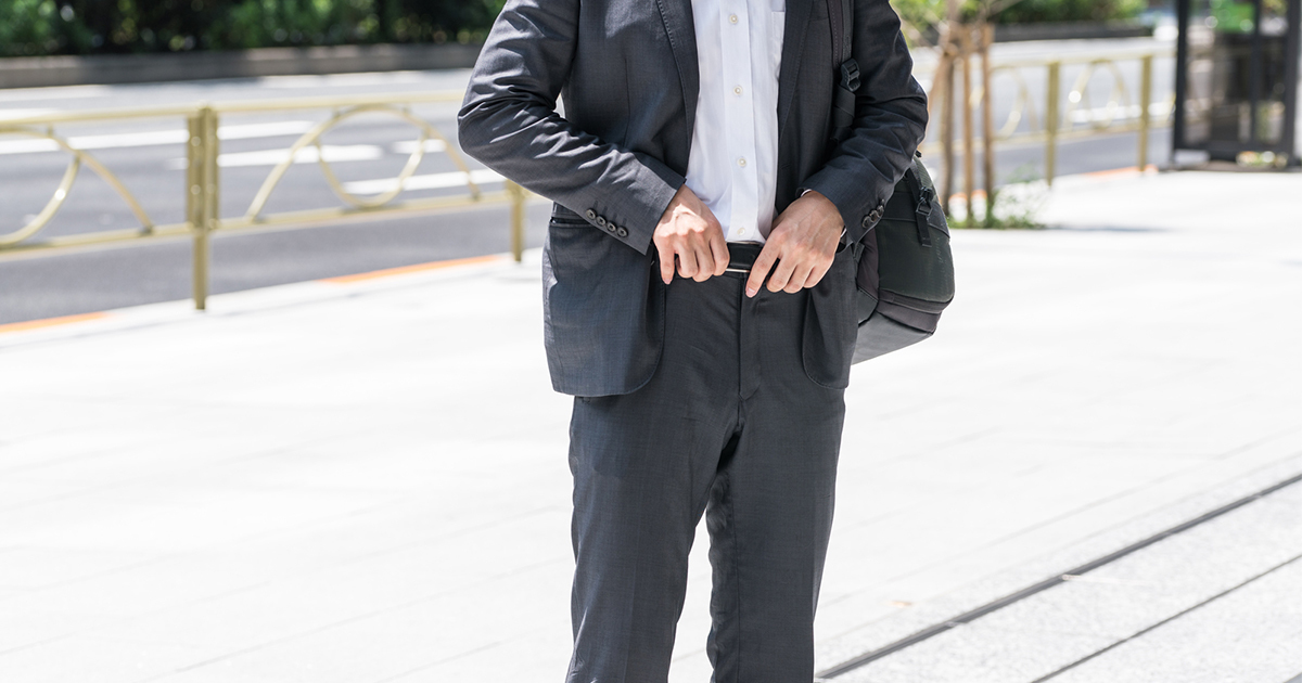 ダメリーマンが着ている「スーツ」3つの残念な特徴