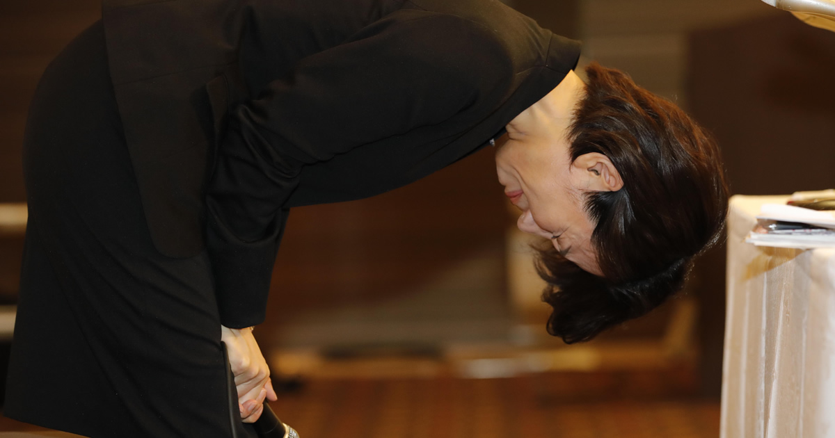 豊田真由子氏から学ぶ、謝罪会見大失敗の根本的な理由
