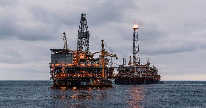 石油掘削プラットフォーム