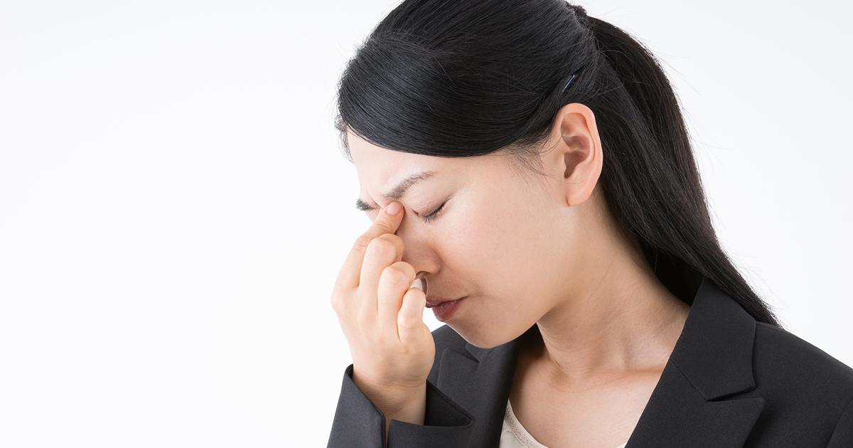 美人妻、上司と面談中に涙のワケは「ドライアイ」