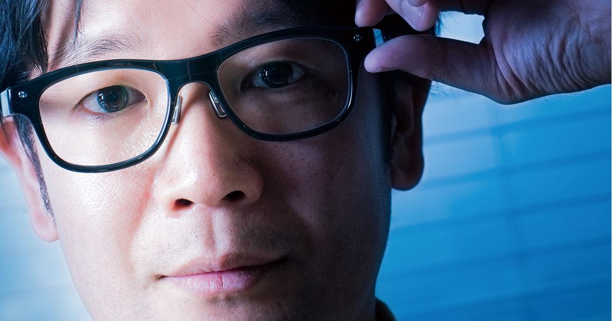 JINSの「自分を知る」センサー付きメガネが見据える働き方改革