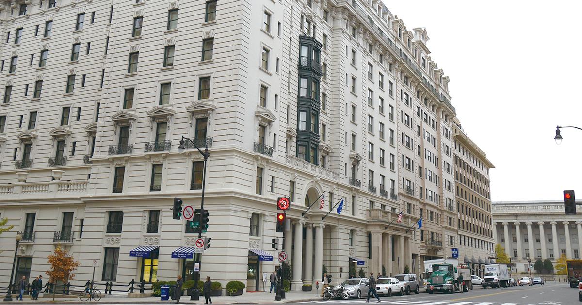 ワシントン最高級ホテルに残る150年以上続く日米関係の証