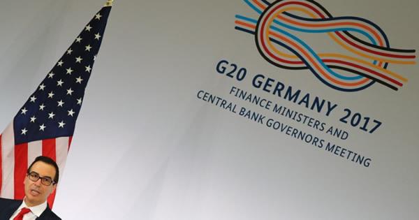 G20、米政策洗練化への期待で「反保護主義」削除容認
