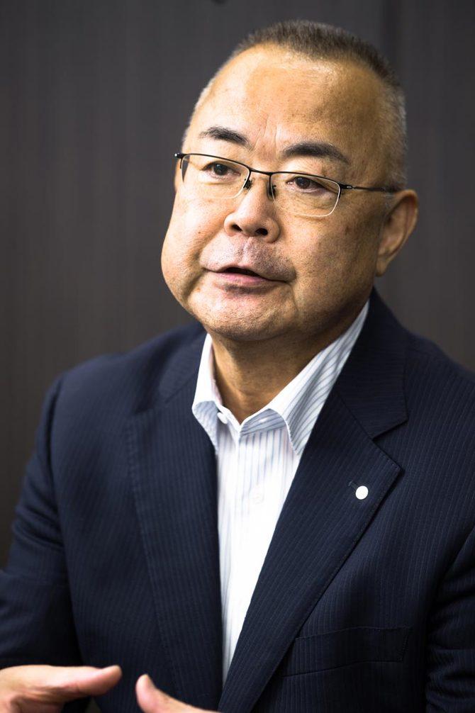 飛島建設の乘京正弘社長