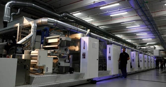 英デ・ラ・ルーがマルタの紙幣・偽造防止印刷工場に導入した新型の印刷機