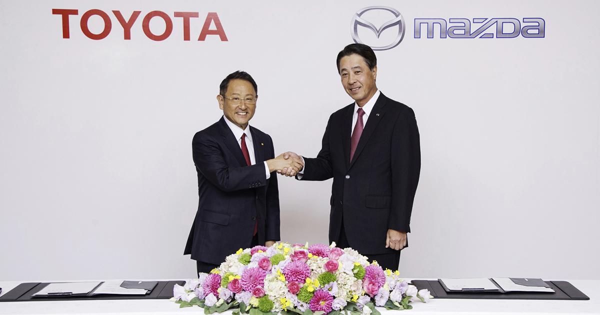 トヨタとマツダの首脳が語る対等な資本提携「真の狙い」