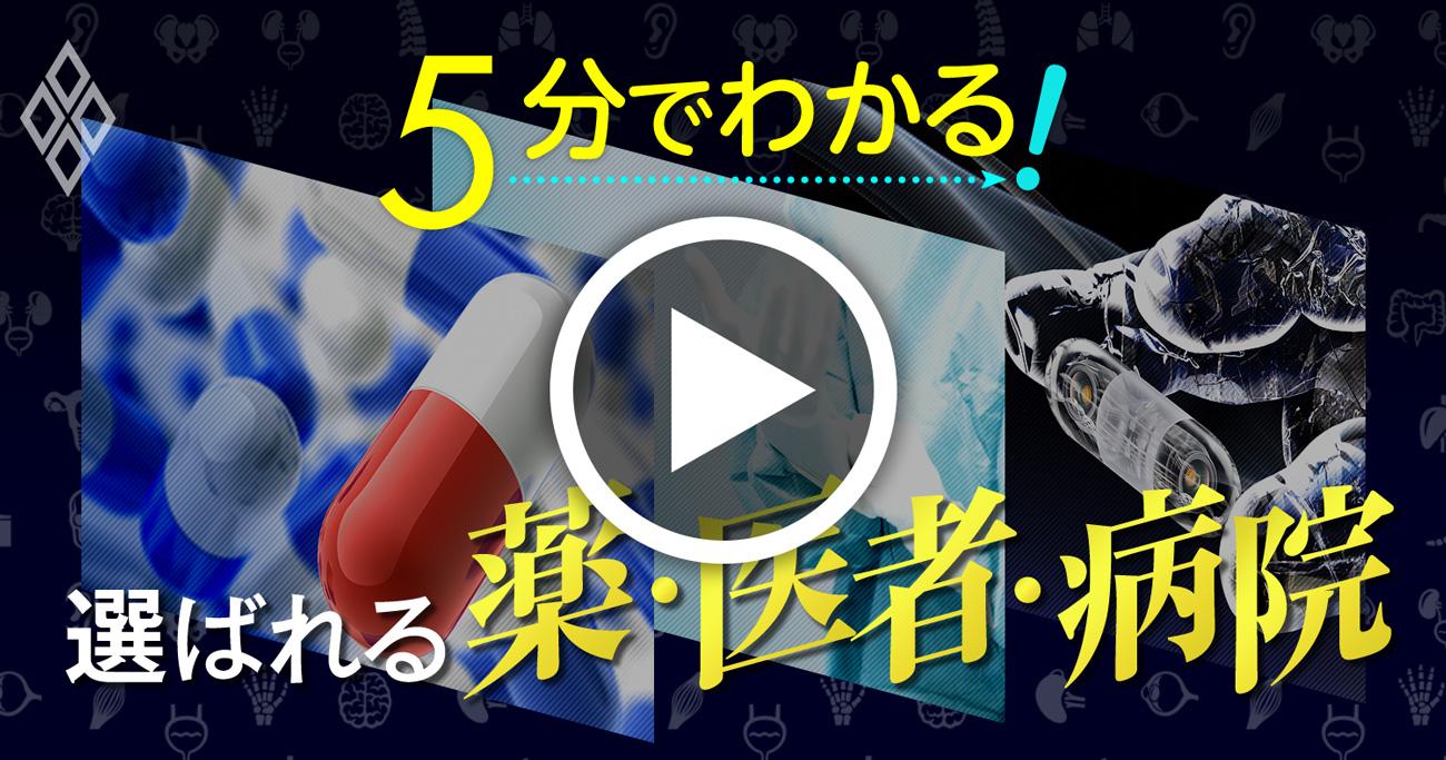 【動画】5分でわかる!特集「選ばれる薬・医者・病院」