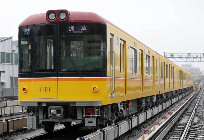 地下鉄銀座線の車両
