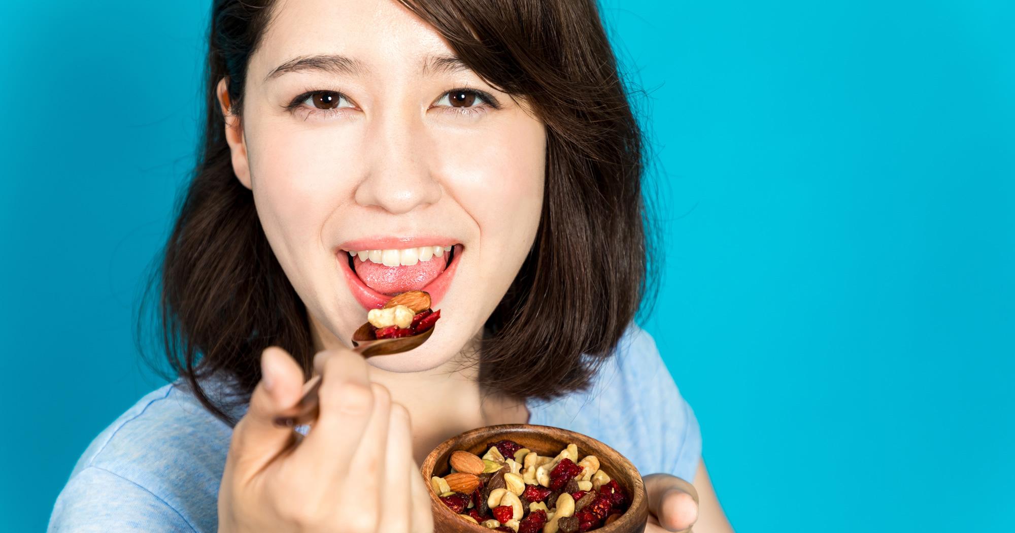 食べるのが好きな人のための「間食OK」ダイエット
