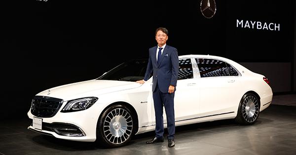 豪華で大きくて高性能というリムジン、メルセデス・マイバッハが日本登場