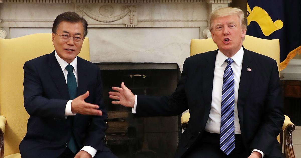米韓が首脳会談で対立、文大統領の「本性」見えた