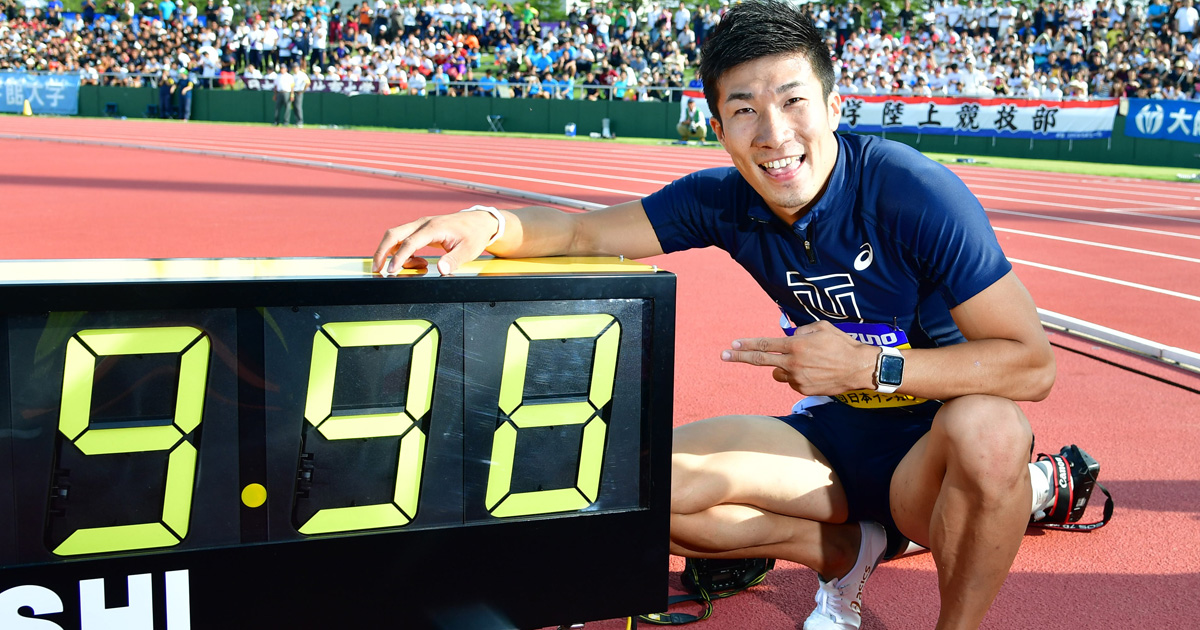 100m9秒台!桐生選手に続く日本人の記録更新はあるか