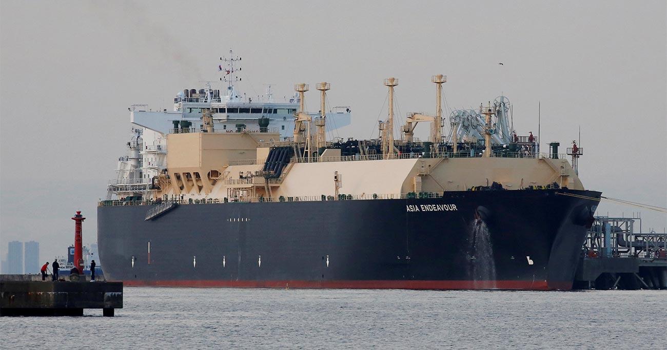 LNG船は、蒸発ガスが少なく、三菱重工業や川崎重工業が得意とする「モス型(独立球形タンク方式)」が主流