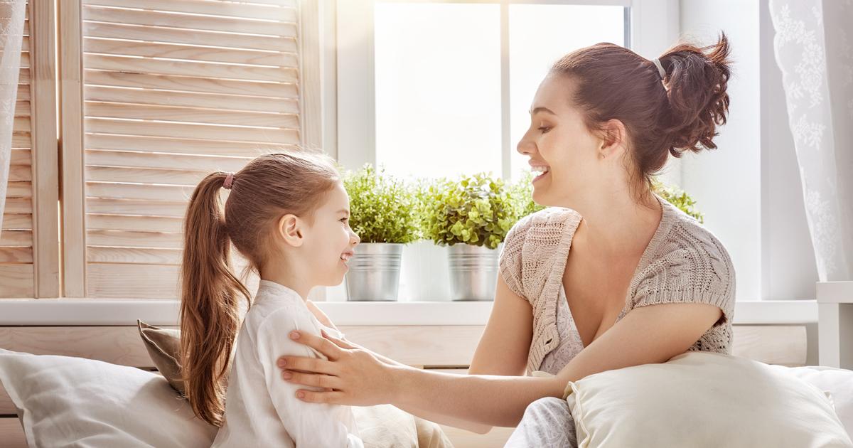 「母親に認められている」と感じている子どもは、何度でも挑戦する