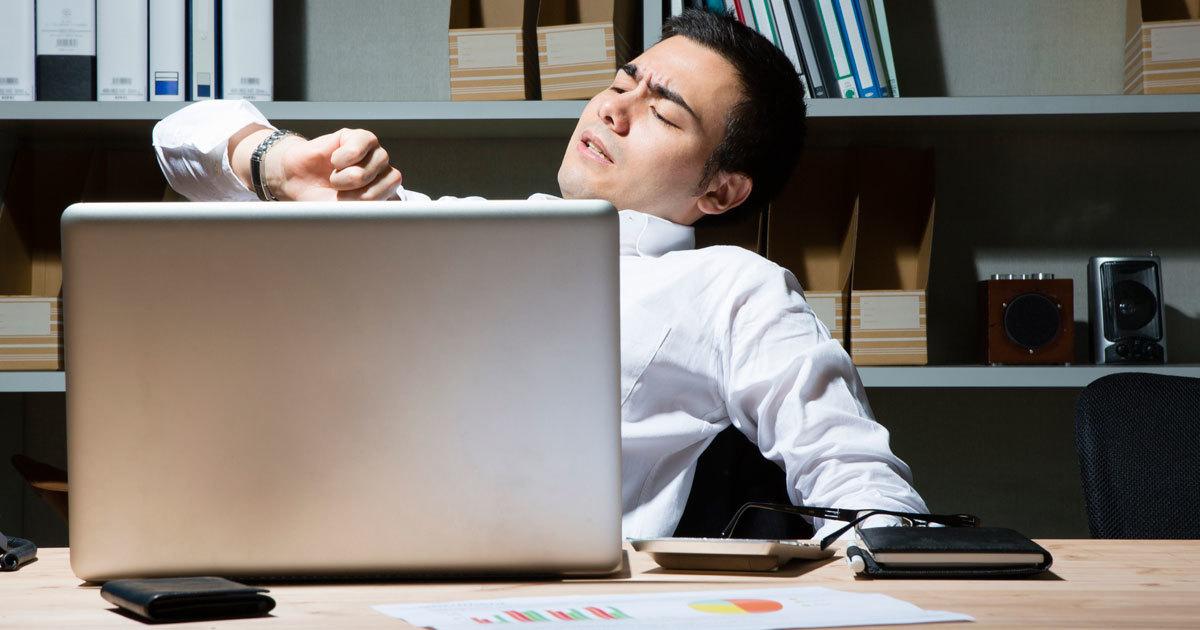がむしゃらに働くより、休んだほうが成果は上がる