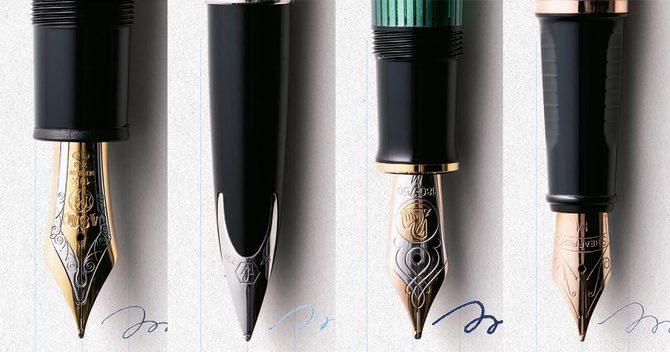 4大ブランドの万年筆