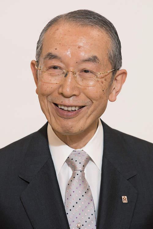 立正佼成会会長・庭野日鑛(にちこう)氏