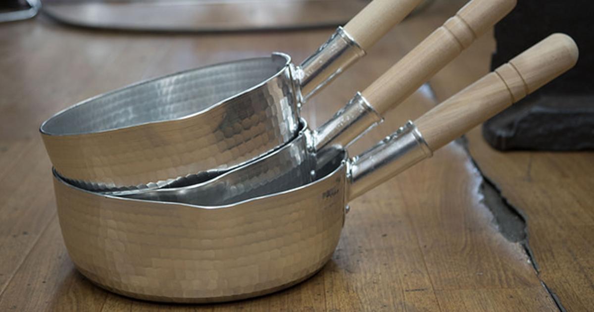 「雪平鍋」がプロの料理人に熱愛される理由