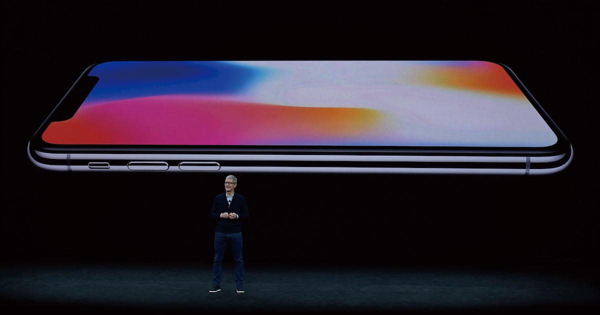 iPhone X、10年目の勝負機種に透けるアップルの不安