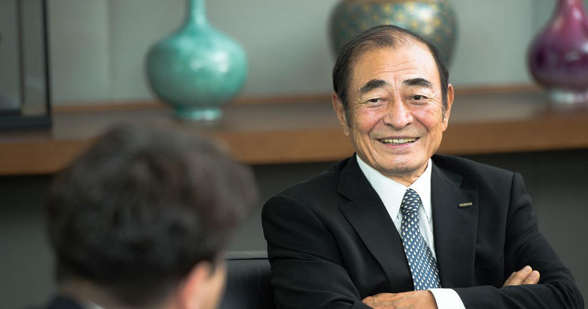 富士フイルムHD・古森会長に聞く長寿経営の秘訣「社会に対する我が社の存在価値を問い続ける」