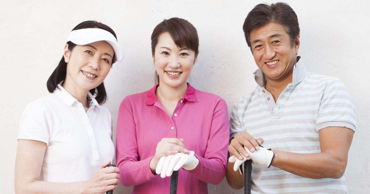 """""""家族をゴルフに連れてって""""妻、子供、孫に贈る、ゴルフ始めストーリー"""
