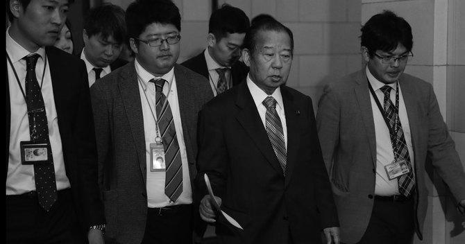 自民党幹事長二階俊博氏