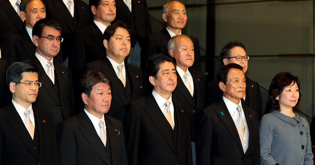 安倍改造内閣、永田町に飛び交う「安倍—岸田密約説」