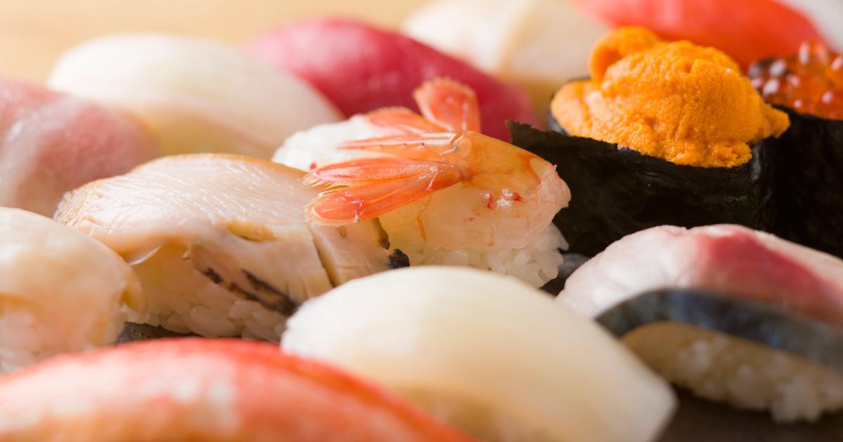 太らない「寿司ネタ」の選び方にはコツがある