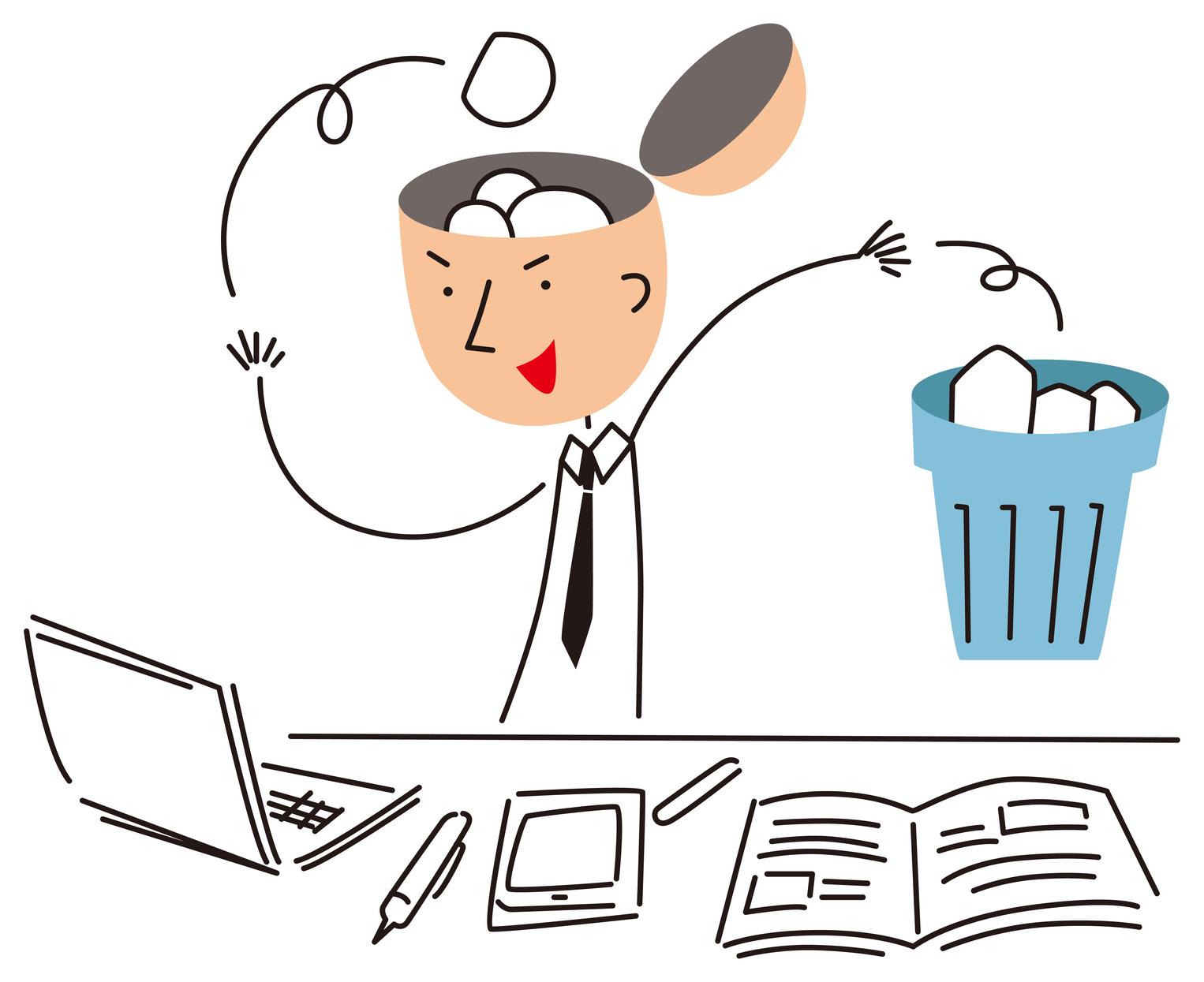 「1日1捨」が最強の整理法である。モノが減って、考え方も洗練される!