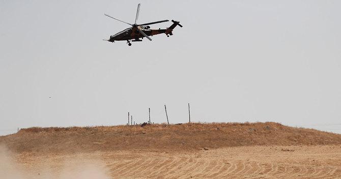 トルコのヘリコプター