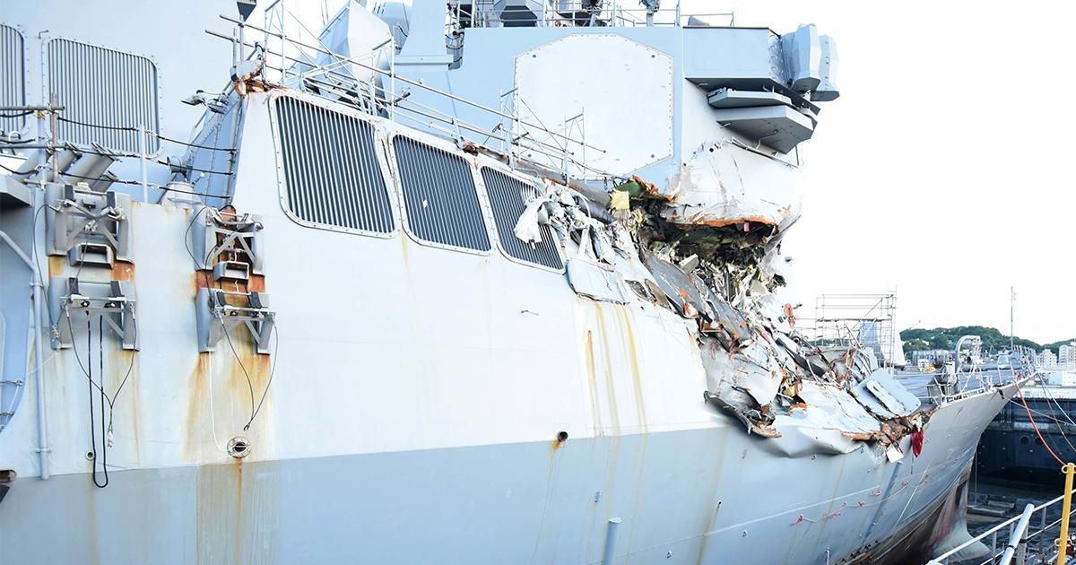 米イージス艦衝突事故の原因究明が1ヵ月経っても進まない理由