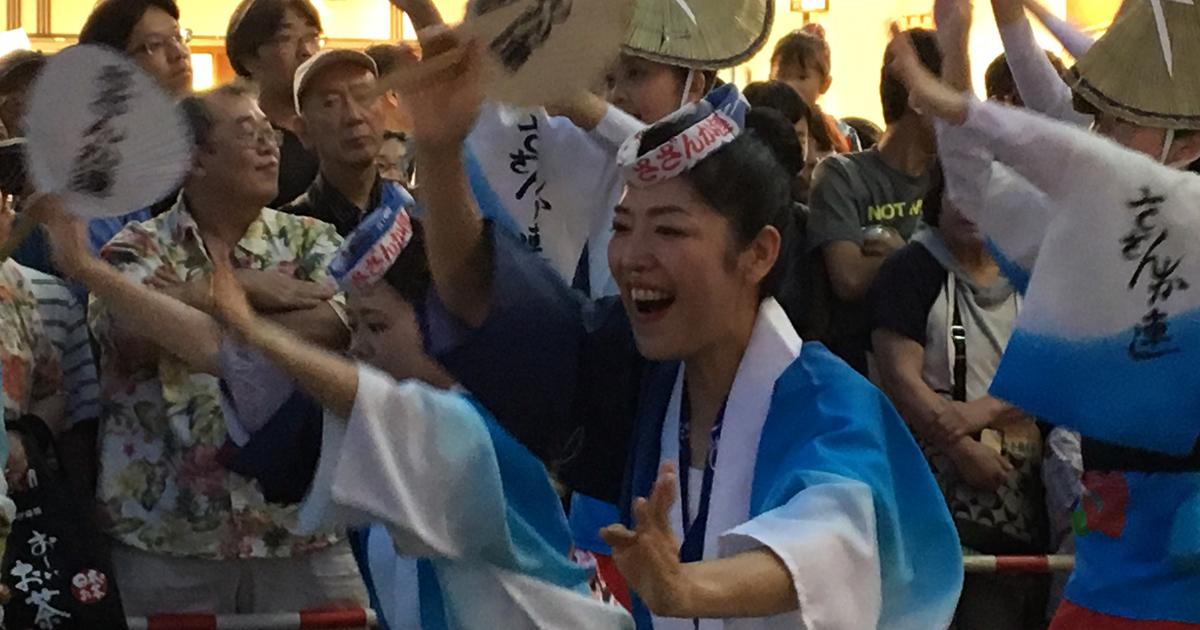 高円寺の阿波おどりと中野の鍋横祭りが外国人を呼び込めた理由