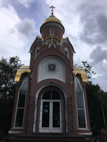 ウラジオストックの教会