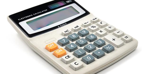 数字に強い人は、電卓の「0」ボタンを押さない