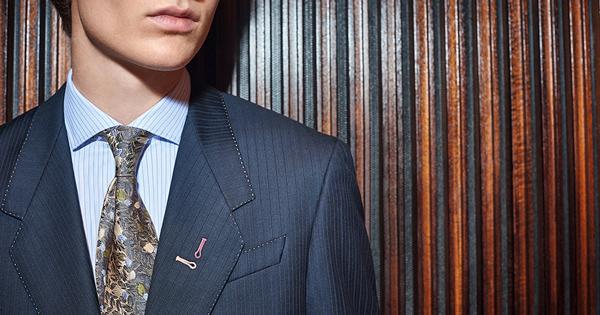 スーツを自分好みにアレンジポール・スミス コレクションの「インディビジュアルオーダー」