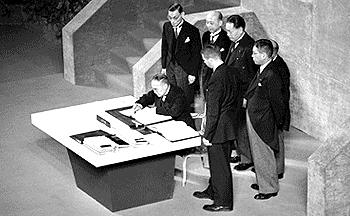 64年前に日本の運命を変えた日米安保条約とは?