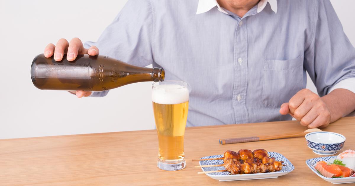 認知症を予防する飲酒量は?1日あたり0.5合程度が上限