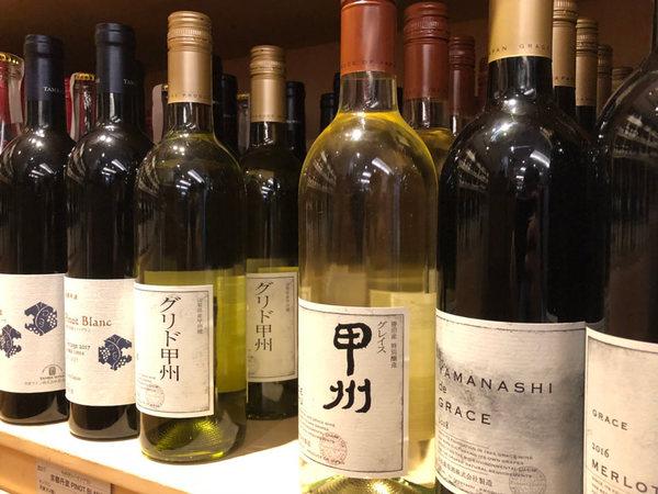 都内のワインショップ