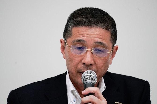 「辞任」に追い込まれた日産自動車の西川廣人社長兼最高経営責任者(CEO)